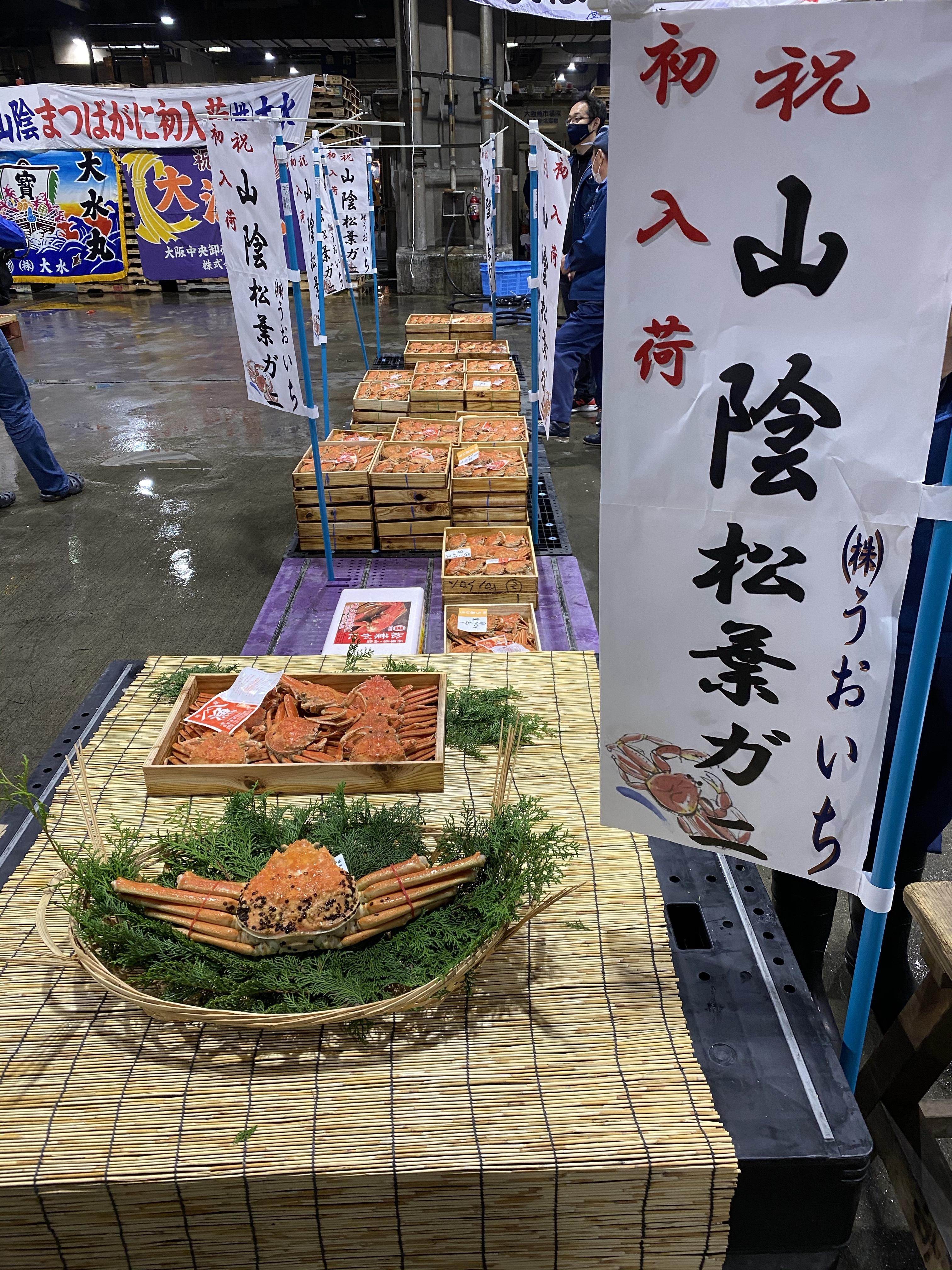"""冬の味覚""""セコガニ解禁"""""""